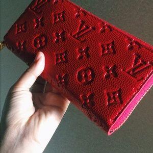 Louis Vuitton Clémence Monogram Wallet